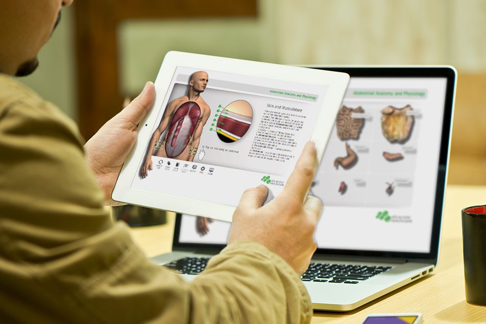 Anatomy teacher app – nPress Media